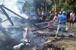 Satu rumah warga di Nagan Raya terbakar