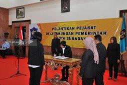 60 pejabat administrator-pengawas Pemkot Surabaya dilantik