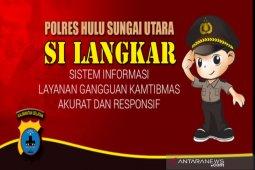 Polres HSU luncurkan Si Langkar, hadirkan pelayanan di genggaman