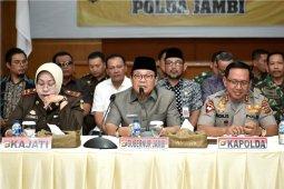 Gubernur apresiasi Polda dan Korem 042/Gapu dalam penanganan Kelompok SMB