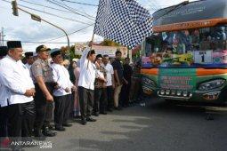 Wali Kota Padangsidimpuan lepas keberangkatan 340 CJH Padangsidimpuan