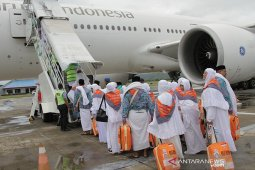 Keberangkatan Kloter 1 JCH Embarkasi Aceh
