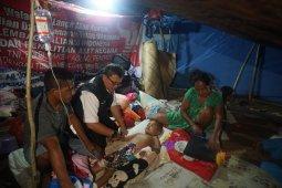 Warga korban gempa di Halsel sambut HUT RI dalam keprihatinan
