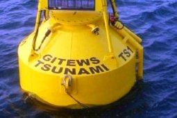Pemasangan alat peringatan tsunami di Mukomuko 2020