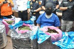 Bea Cukai Kualanamu kembali gagalkan penyelundupan daun khat