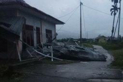 Puting beliung hantam empat atap bangunan di  Aceh Tenggara