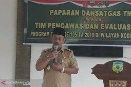 Bupati Palas kagum disiplin TNI di TMMD