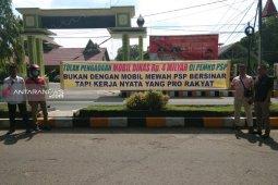 Mahasiswa Padangsidimpuan tolak pengadaan mobil dinas senilai Rp4 miliar