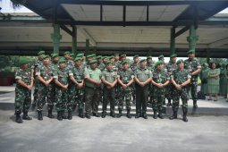 Dandim 0204/DS lepas anggota yang memasuki MPP