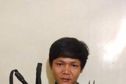 Polisi Binjai ringkus tersangka pengancaman dengan pisau sangkur
