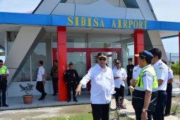 Landasan pacu Bandara Sibisa  diperpanjang