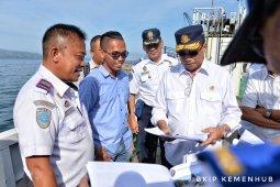 Menhub pastikan keamanan pelayaran di Danau Toba