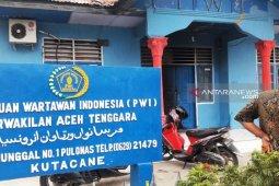 Kantor PWI Aceh Tenggara diduga berusaha dibakar  OTK