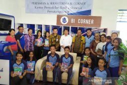 Bank Indonesia serahkan BI Corner ke SMPN 3 Pematangsiantar
