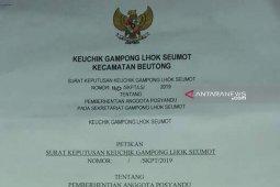 Nagan Raya bentuk perbup seragamkan logo di surat resmi desa