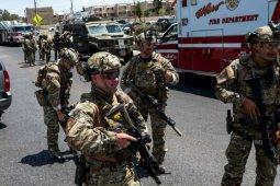 Pelaku penembakan massal di Texas menyerahkan diri