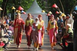 Busana tenun Baduy dipamerkan di Moskow