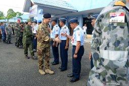 Danlanud SIM terima kunjungan tur atase militer negara sahabat