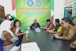 Tim verifikasi pusat Kabupaten Sehat kunjungi Asahan