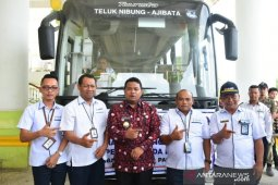Pemkot Tanjungbalai launching Damri trayek Teluk Nibung-Ajibata