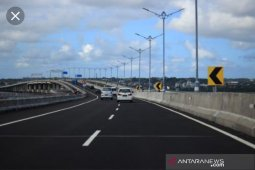 62.402 kendaraan melintasi Tol Manado-Bitung saat dibuka fungsional