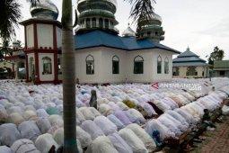 Ribuan umat muslim di Nagan Raya  sudah rayakan  Idul Adha