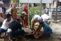 Gerindra Padangsidimpuan bagikan hewan kurban