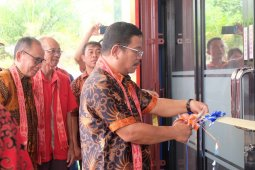 Bupati Rupinus resmikan Kantor Baru CU Usaha Kita Balai Sepuak