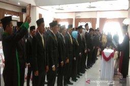 Anggota DPRD Balangan periode 2019 - 2024 dilantik