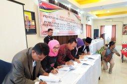 KPU Simalungun tetapkan 50 caleg terpilih