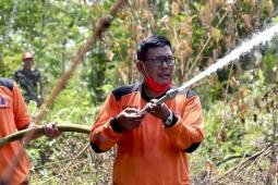 Bupati Citra pantau titik hotspot di Simpang Hilir