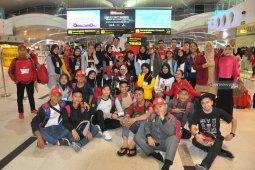 PTPN IV berangkatkan 35 peserta SMN asal Sumut ke Palu