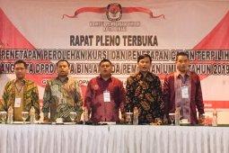 KPU Binjai tetapkan 30 anggota DPRD