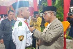 Waled kukuhkan Paskibra  2019 Aceh Besar