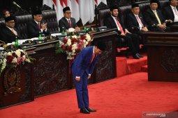 Presiden Jokowi sebutkan tahun 2020 pertumbuhan ekonomi 5,3  persen