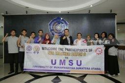 UMSU terima 4 mahasiswa  asing program SEA Teacher