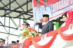 Wali Kota Padangsidimpuan pimpin HUT kemerdekaan RI