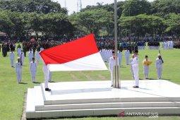 Peringatan HUT RI ke-74 Kabupaten Asahan berjalan khidmat