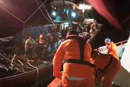 36 ABK berhasil dievakuasi Basarnas Sibolga dari tengah laut