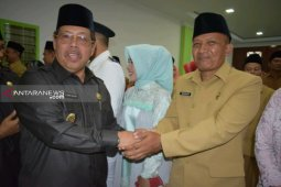 Nurcahyo Budi Susetyo dilantik sebagai  Kabag Humas dan Protokol Pemkot Padangsidimpuan