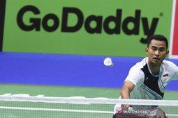 Tommy maju babak kedua Denmark Open 2019