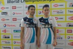 Fajar/Rian ikuti jejak Ahsan/Hendra ke 16 besar Kejuaraan Dunia