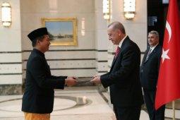 Dubes RI serahkan surat kepercayaan, Erdogan sebut Jokowi