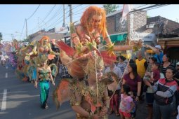 Parade budaya Sanur Village Festival