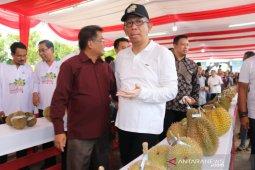 Gubernur kenalkan 12 varietas durian unggulan Kalbar