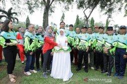 Taman Hutan Kota Kisaran bernama Taufan Gama Simatupang