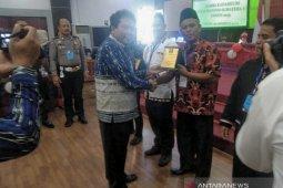 Desa Sukaramai Labura wakili Sumut Lomba Kadarkum Nasional