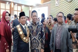 Bupati Madina hadiri pelantikan Rektor Unimed