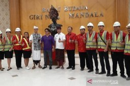 "Pembangunan Balai Budaya ""Giri Nata Mandala"" sudah tahap akhir"