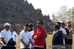 Jokowi ingin penataan empat destinasi wisata prioritas tuntas 2020